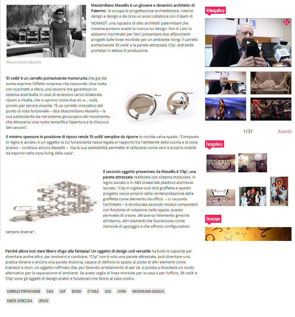 Masellis Architetti leisi clip 2